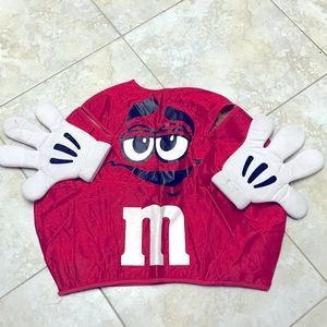 Small Red M&M Costume